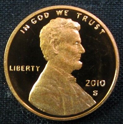 2010 S Lincoln Shield Cent/Penny - Gem Proof Deep Cameo