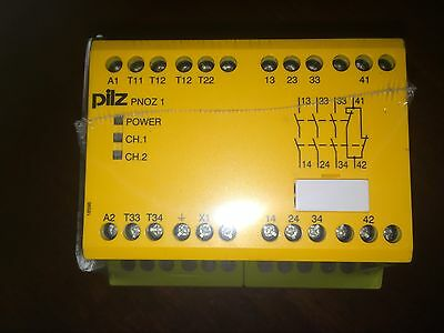 PNOZ1 PILZ PNOZ 1 24Vac SAFETY RELAY