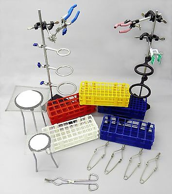 Lab Stand Set Rack Clamp Physics Chemistry Biology New Hardware Assortment