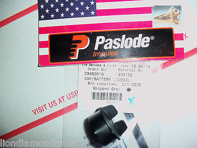 """NEW"" Paslode Part #  403155  Battery Cap"