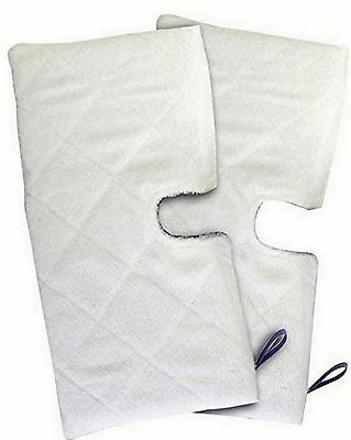 TWO  Replacement  Pads for Shark Pocket Steam Mop XLT3501 S3501 S3601 S3901