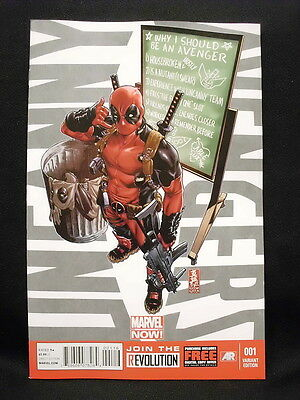 Uncanny Avengers  #1 - Deadpool Call Me Maybe Variant Cover - VF+/NM