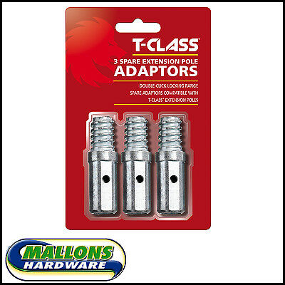 T-Class 80044 3 Spare Extension Pole Adaptors