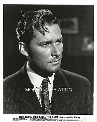 YOUNG HANDSOME ERROL FLYNN THE SISTERS WARNER BROTHERS PORTRAIT STILL