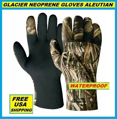 GLACIER GLOVE ALEUTIAN Neoprene Gloves Size ALL SIZES! #817MA FREE USA SHIPPING