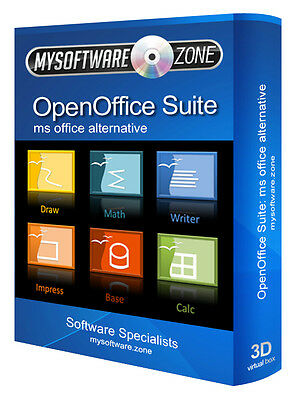 NEW Open Office Professional Software Suite 2017 Latest Edition