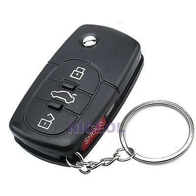 Electric Shock Gag Car Remote Control Key Funny Trick Joke Prank Toy Gift Party