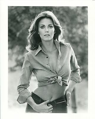 LYNDA CARTER unsigned 8x10 photo           GORGEOUS+SEXY SHOWING OFF ABS