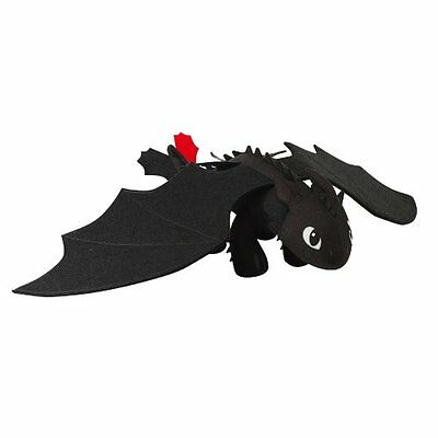 """DreamWorks Dragons: How to Train Your Dragon 2 14"""" Plush Toothless New"""