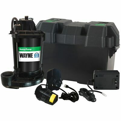 Wayne - ESP25 - Battery Backup Sump Pump (1680 GPH @ 10')