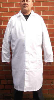 Sam Protective Lab Butchers Food Hygiene Painting White Coats Unisex Overalls