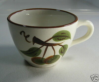 Vintage Stangl Pottery ORCHARD SONG Coffee Tea Cup Mug Hand Painted