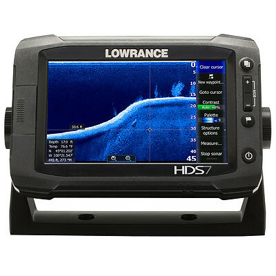 Lowrance HDS-7 Gen2 Touch Insight GPS 83/200kHz & Structure Scan - $200 REBATE -