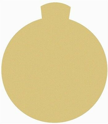 Ornament Style 3 Unfinished MDF Cutout Variety Sizes USA Made Christmas Theme