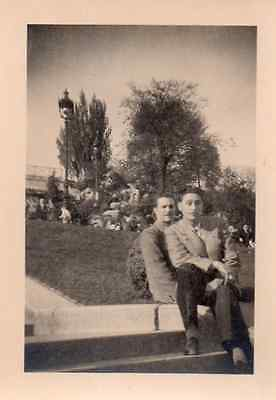 Photographie anonyme vintage snapshot gay int. homme
