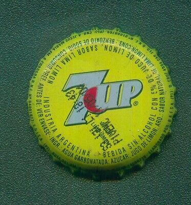 7UP SEVEN UP CROWN CAP ARGENTINA BY PEPSI COLA PROMO