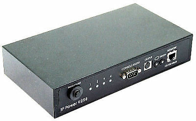 IP Power 9258T 4 Outlet Remote Network Power Web Controller w/ RS232 Port