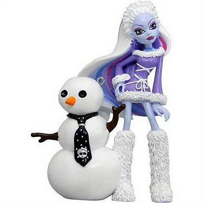 Monster High Abbey Bominable with Snowman Ornament