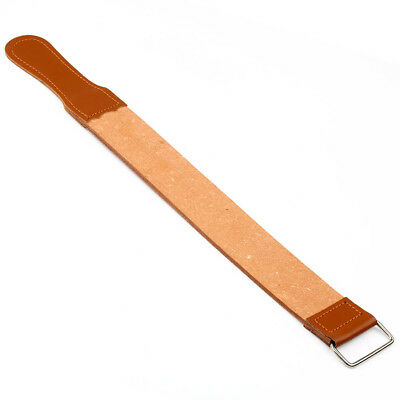 New Genuine Leather Strop/Belt Barber shaving Pro Straight Razor Sharpener