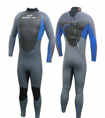 Sola Fusion GBS 5/4/3 MM Neoprene Mens Winter Wetsuit Surfing Sailing JetSki