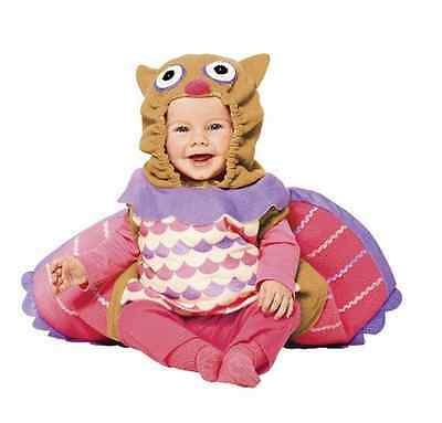 OWL Infant/Toddler Plush Pink & Purple Dress-up Baby Halloween Costume - NWT