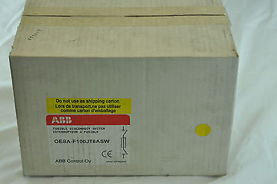 Fusible Disconnect Switch, Abb, Asea Brown Boveri, Oesa-F100Jt6Asw