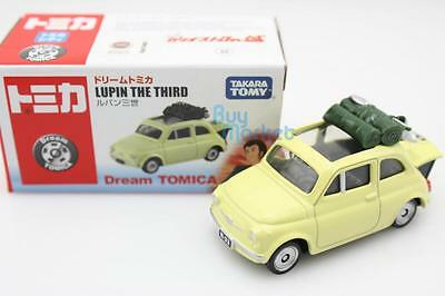 NEW Takara Tomy Dream Tomica Lupin the Third Fiat 500 Mini metal Diecast Toy Car