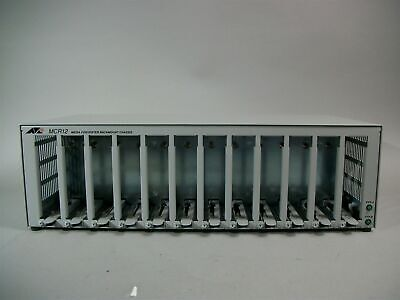 Allied Telesis AT-MCR12 Media Conversion AT-MCR12-10 Rackmount Chassis - New