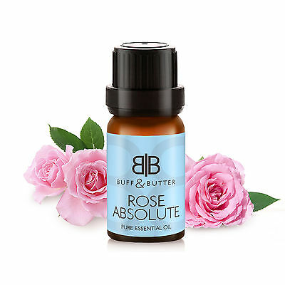 100% Pure Rose Absolute Essential Oil 10ml