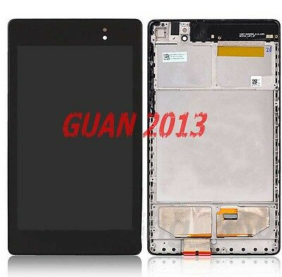 A+ LCD Touch Screen Digitizer Frame For Asus Google Nexus 7 2nd Gen 2013 WIFI