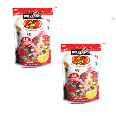 2 x Jelly Belly Original Gourmet Jelly Bean 45 Flavours 1.8kg Most Famous New