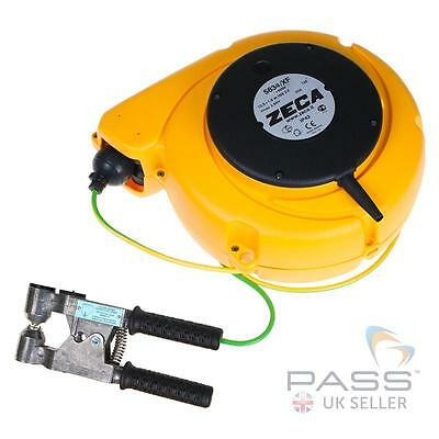 14.0m Grounding Cable Reel with Explosive-Proof Clip