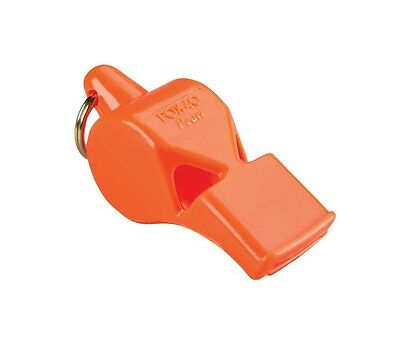 Pearl Safety Whistle with Keyring (Pealess): Fox 40 Emergency Signal, Orange