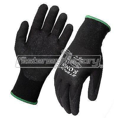 Stealth Ronin Extra Large XL Work Gloves X 12 Pairs Ninja Style Glove