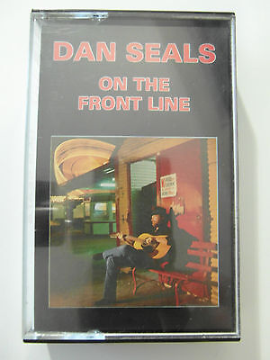 Dan Seals -  On the front Line - Album Cassette Tape, Used Very good