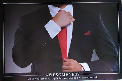 How I met your mother-Awesomeness-Tie- motivational   -Licensed POSTER-90cm x 60