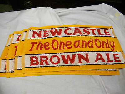 Newcastle Brown Ale BeerTowel Golf Towel  The One And Only
