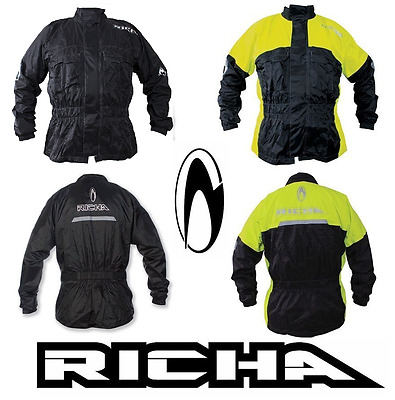 Richa Rain Warrior 100% Waterproof Over Jacket for Motorcycle Motorbike Scooter