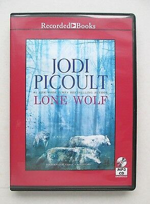 Lone Wolf by Jodi Picoult  UNABRIDGED MP3 CD audiobook 13 hours