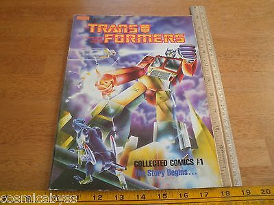 The Transformers collected comics #1 MARVEL books TPB GN 1985