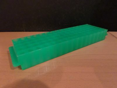 Plastic 80-Place Position 1.5 2.0mL Microcentrifuge Tube Rack Holder Support