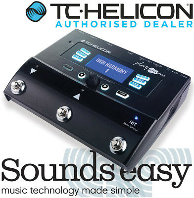 TC Helicon Voicelive Play Acoustic - Vocal Harmony & Guitar Multi-FX Pedal