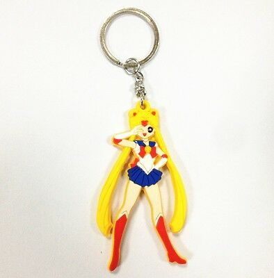 "Japanese Anime Sailor Moon Tsukino Usagi 5cm/2"" Pendant Keychain Keyring Gifts"