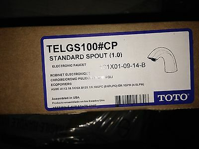 Toto Electronic Faucet TELGS100#CP New in original box