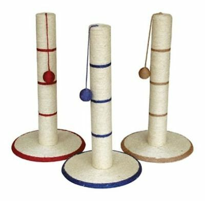 Cat & Kitten Scratching Post - Large Sisel Cat Scratch Post 62 Cm Play
