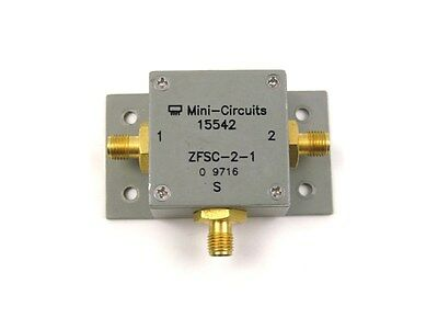 CLEAN! Mini-Circuits 15542 2-Way Power Splitter Combiner ZFSC-2-1