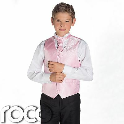Boys Pink & Black Suit, Page Boy Suits, Boys Wedding Suits, Boys Suits, Swirl