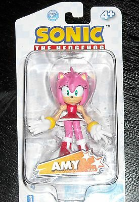 """SONIC THE HEDGEHOG ACTION FIGURE 3"""" AMY"""