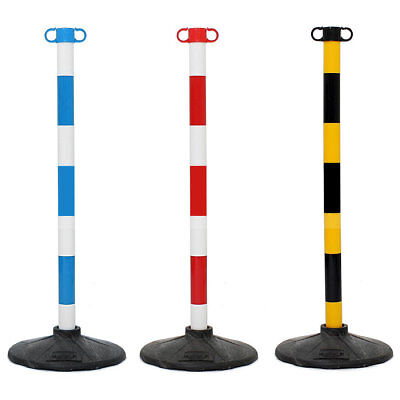 JSP Post and Base Safety Security Queue Crowd Barrier System for Plastic Chain