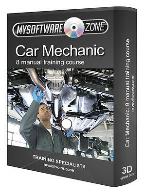 Car Mechanic 8 Manual Training Course Auto Exhaust Electrical Clutches Gear Fuel